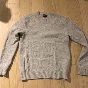Men's wool sweater